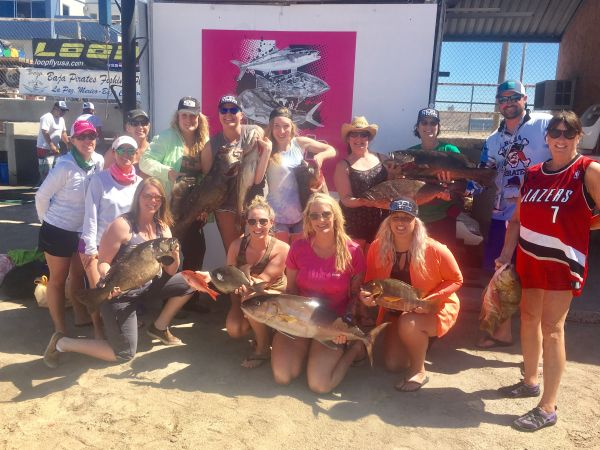 The girls from northwest girls gone fishing did it again for Girls gone fishing